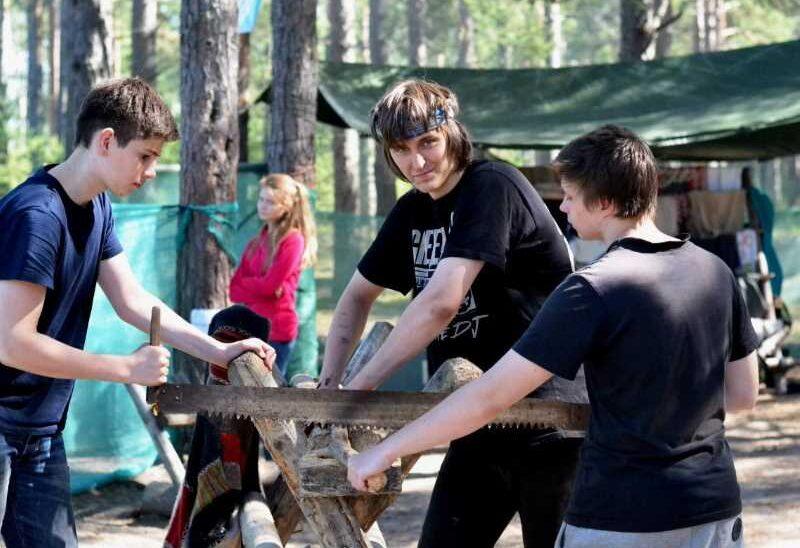 Тур слет Медведь для подростков